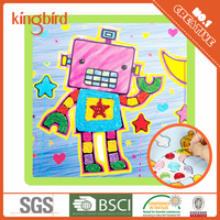 new arrival kid's favorite crafts in party sticky string painting kits