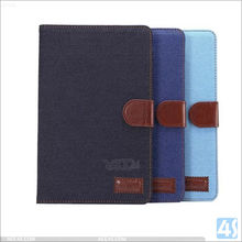 For iPad Pro 9.7 Air 3 Flip Cover Case, for iPad Pro Air 3 New Jean Wallet case with card slot
