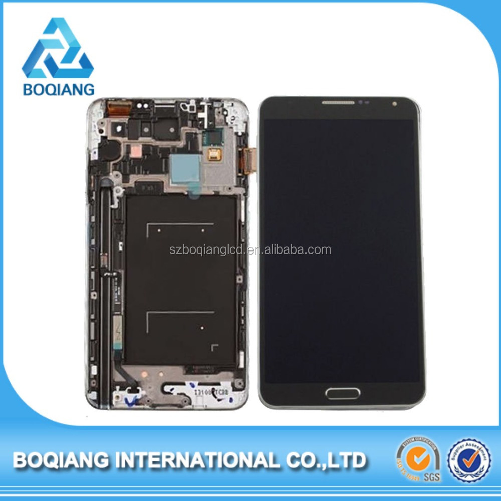 Factory Wholesale digitizer assembly for samsung note 3 n9005 lcd with touch screen