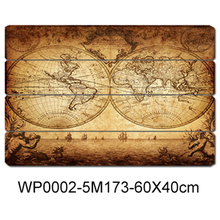 USA wall art decoration handmade stickers vintage wooden plaque wood sign for home decors
