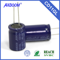 price list of hot sale aluminum electrolytic capacitor from a famous brand Axboom