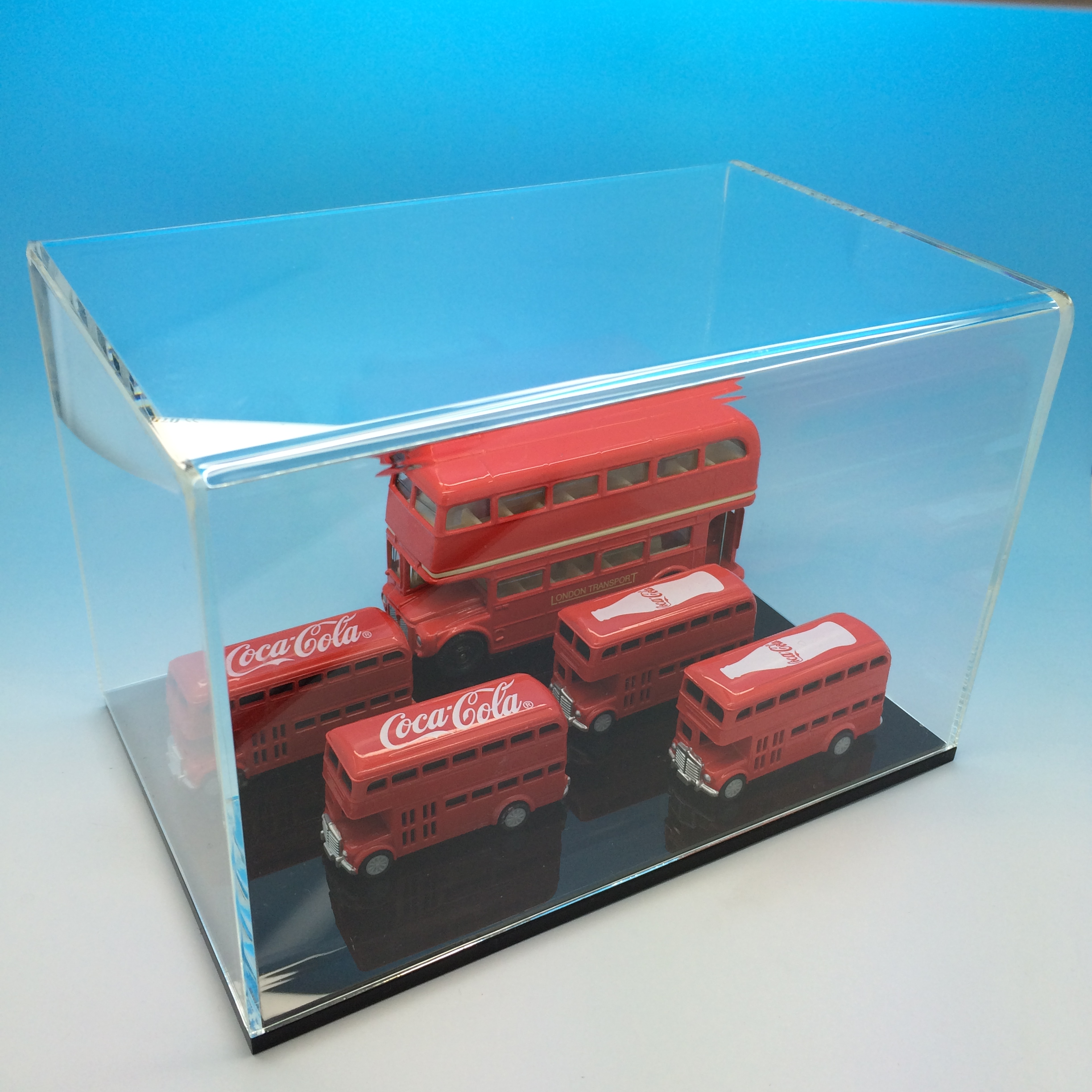 acrylic display case for mini action figure