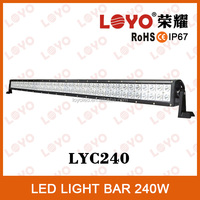 240w led light bar offroad heavy duty, indoor, factory, agriculture, marine, mining used work led bar 12V car led driving lights