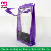 hot sales pvc ice bag for cooling wine bottles pvc cooler wine bag with ice pvc liquid ice bag