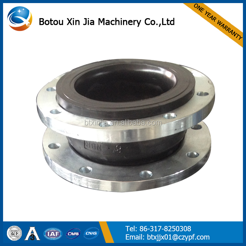 high temperature nbr rubber expansion joints for heat exchanger