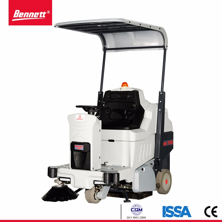 Battery charger auto floor sweeper, floor sweeping machine,road sweeping truck for dust cleaning