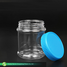 Grosir screw cap ukuran custom kemasan plastik pet madu jar