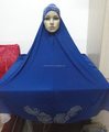 H302 new style big size hijab with stones,no stiff on front,pray hijab