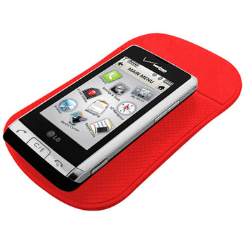 Car accessories supplier cell phone pu sticky pad dash mat
