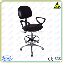 With castor,cup, Adjustable esd antistatic clean room chairs