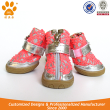 JML breathable dog rubber boots for running anti-slip dog boots and shoes