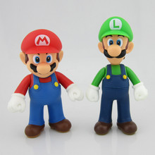 Custom Make PVC Super Mario Brothers Mario Action Figure 12cm
