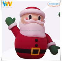 Santa Claus model outdoor lowes Christmas inflatable decoration Xmas