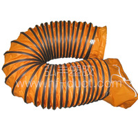 12 inch good quality and plastic pvc flexible duct