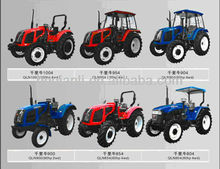 Widely welcomed and practical Agricultural Farm Tractor 90hp 2wd excellent in farming work, transportation, and other farm jobs