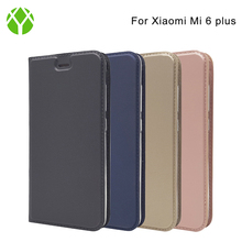 Ultra Slim Layered Dandy Smart Kickstand Magnetic Closure PU Leather Flip Case Cover for xiaomi mi6 plus