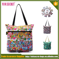 vivisecret China supply wholesale fold up reusable shopping bag