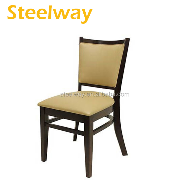 Solid wood <strong>oak</strong> vintage restaurant dining chair