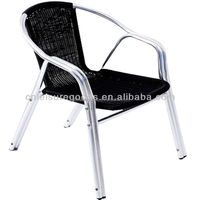 MY2004A Outdoor Aluminum Rattan Dining Chair