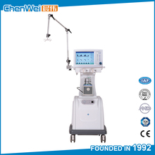 CE marked cheap price hospital breathing machine / trolley ventilator medical CWH-3020B