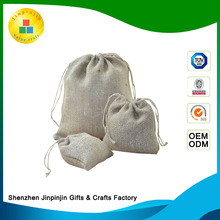 Hot selling linen tote bag cheap jute bag gift bags wedding