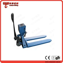 2015 Hydraulic hand pallet jack Hydraulic pallet truck scale china