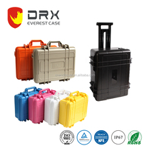 Large Equipment Carrying Box Ip67 Plastic Trolley Case with foam