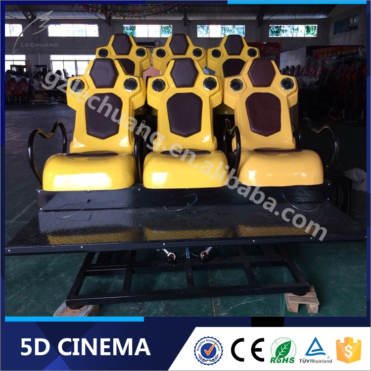 Lechuang Interactive Gun Shooting Motion 7D Cinema System Sell 5D 6D 7D Cinema In India
