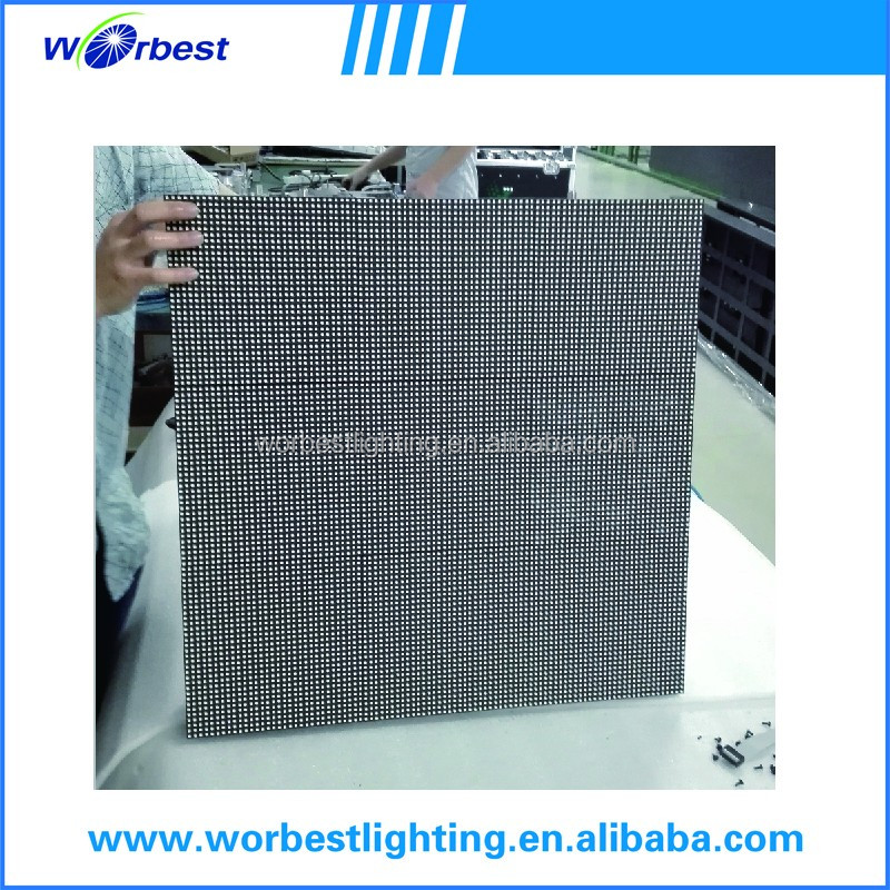 die-casting aluminum cabinet P6 event display