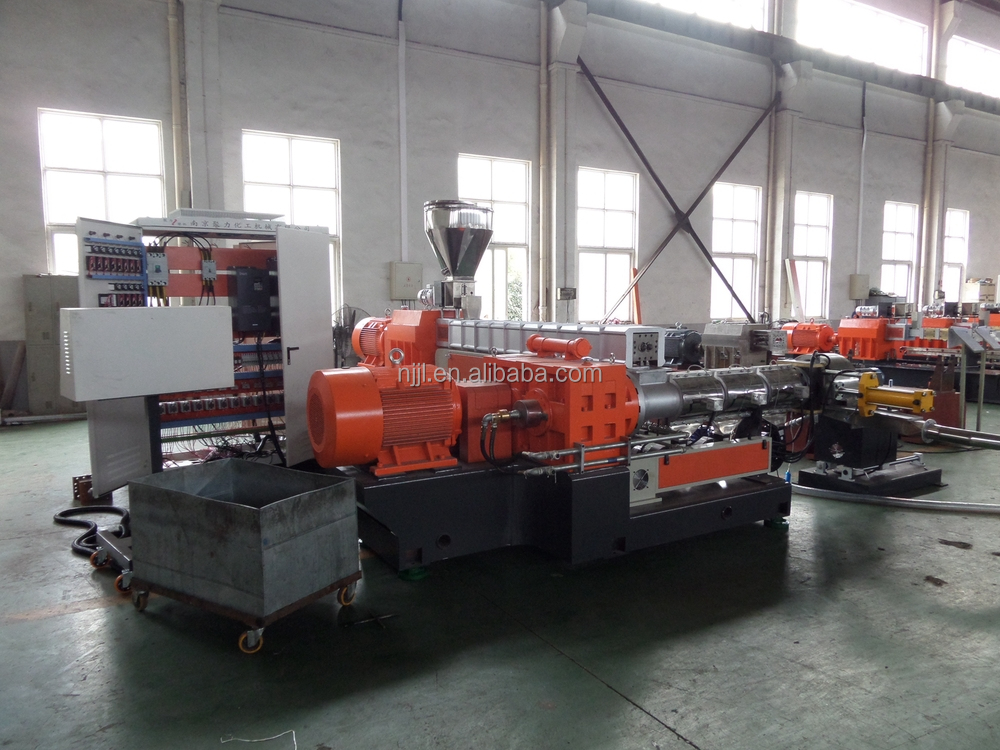 SHJS 500 kg/h Two Stage Extruder for soft PVC compound