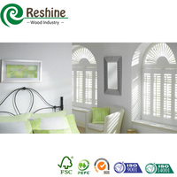 PVC painting plantation window louver shutter factory