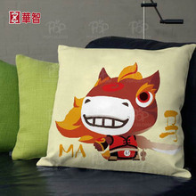 Customized printing Cushion Cover, Sofa seat cushion replacement