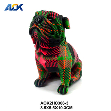 Factory Supply Mini Dog Puppy Show Pieces For Home Decoration