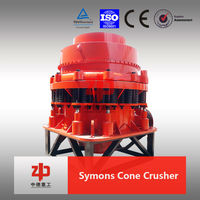 High Crushing Ratio HP300 Small Symons Hydraulic Cone Crusher