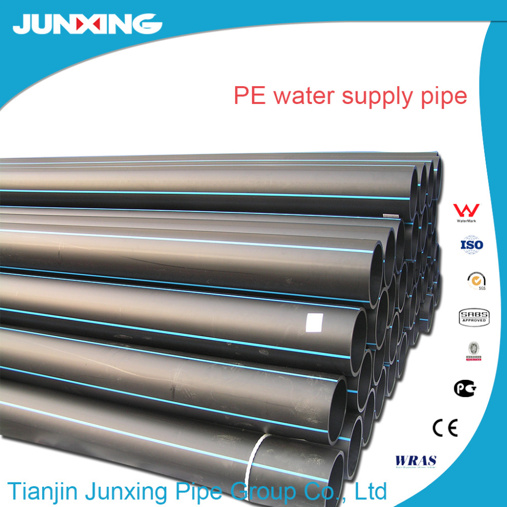 JunXing pipe group hdpe plastic water pipe for potable water