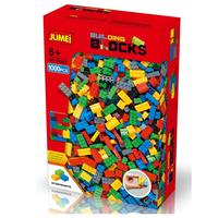 1000 pieces bricks Eco-friendly abs JUMEI colorful building blocks, 1000pcs DIY General blocks