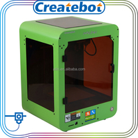 Alibaba 3d printer filaments ,3d printer manufacturers green color createbot brand MINI t-shirt 3d printer