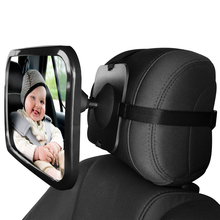 baby mirror car for fixed headrest safefit baby auto mirror