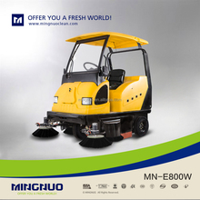 mingnuo industrial electric road sweeper