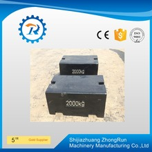 1000kg iron weight units, casting weight