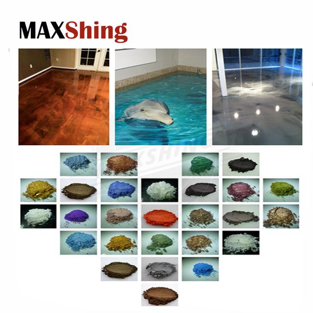 Maxshing pearlescent pigment for epoxy floor resin paint industrial floor