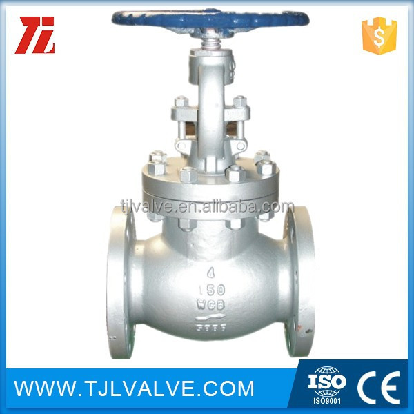 ansi125/150 flange type bs 1873 globe valve good quality