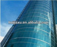 Reflective Double Glazed Aluminum Curtain Wall For Commercial Building