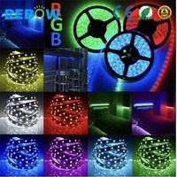 led light strips 5m/roll 14.4w/meter 5050 rgb led light strip with factory price