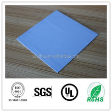 Light blue color high conductivity super thin softness thermal pad