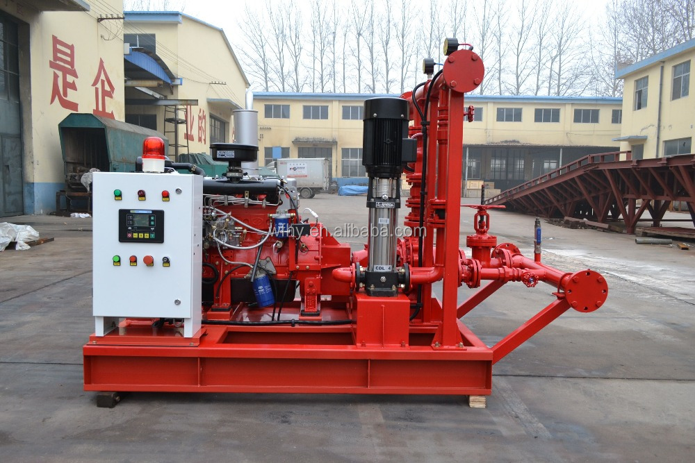 High quality diesel engine fire fighting pump