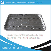 Eco-friendly aluminum foil food tray for BBQ