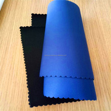 3mm Thickness Blue Pink White Foam Coated Smooth or Patten Colorful Neoprene Textile OK Ployester Fabric for Clothing