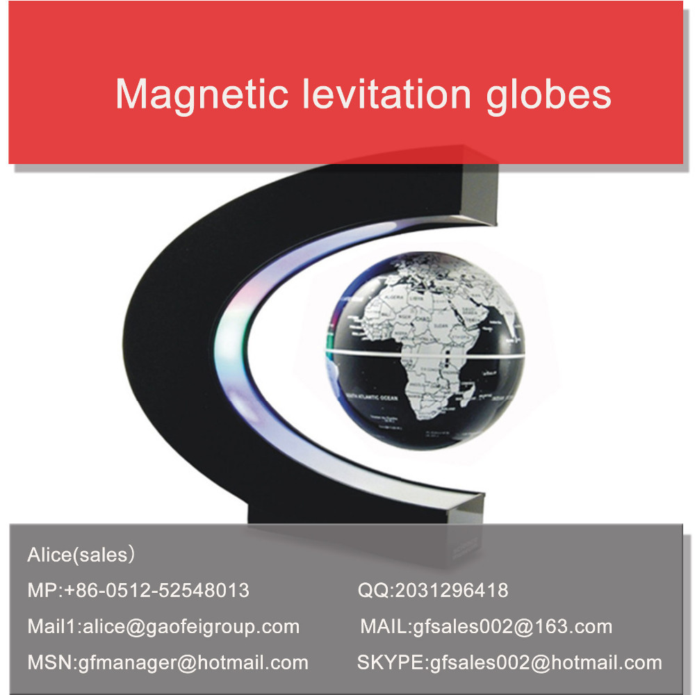 2015 Newest Style Magnetic levitation globe hot sale!