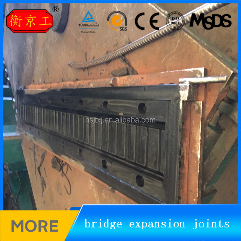 China Jingtong high strength elastic neoprene rubber expansion joints for bridges construction